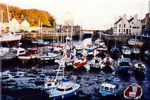 SC2667 : Castletown - Harbour - View to southeast by Joseph Mischyshyn