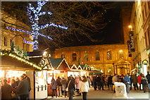 SJ8398 : Christmas Market, St Anne's Square by N Chadwick