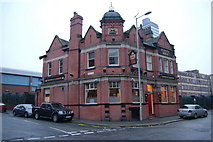 SJ8499 : The Crown & Cushion, Corporation Street by Bill Boaden
