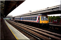 TQ2775 : Diesel train at Clapham Junction by Dr Neil Clifton