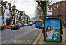 TQ2789 : The High Road, East Finchley by Martin Addison