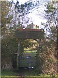 TQ4655 : Lych Gate to St Martins Church, Brasted by David Anstiss