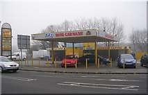 SE1437 : Bubbles Hand Car Wash - Saltaire Road by Betty Longbottom
