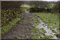 SD4091 : Footpath to Wood farm by Tom Richardson