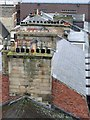 NZ2464 : Roofs and chimneys, Eldon Square by Andrew Curtis