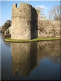 ST5545 : Bishop's Palace, Wells by Philip Halling