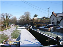 SO8688 : Greensforge Lock, Staffordshire & Worcestershire Canal by P L Chadwick