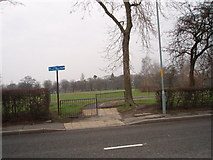 NZ4918 : Cycle Track in Albert Park by Philip Barker
