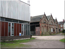TG2407 : Trowse pumping station - ancillary building by Evelyn Simak