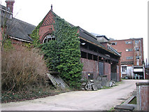 TG2407 : Trowse pumping station - ancillary building seen from the SE by Evelyn Simak
