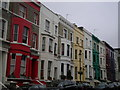 TQ2481 : Lancaster Road W11 by Robin Sones
