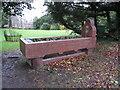 SU8693 : Drinking trough by Sandy B