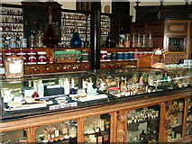 SJ6903 : Inside the chemist's at Blists Hill by Roy Haworth