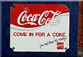 J4273 : Old Coca-Cola sign, Dundonald by Albert Bridge