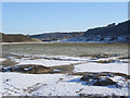 SS8676 : Salt marsh in the Ogmore estuary by eswales