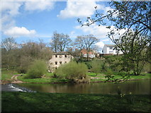 NY6819 : Appleby water mill beside the River Eden by Paul Harris