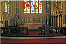 TQ2550 : St Mary's Church, Reigate - the sanctuary by Ian Capper