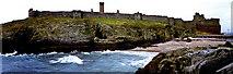 SC2484 : Peel - Peel Castle and Fenella Beach by Joseph Mischyshyn