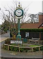 SO8480 : The Cookley 2000 Clock, Elizabeth Bache Corner by P L Chadwick