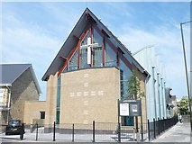 TQ4077 : The New Sunfields Methodist Church by Edward A Goalen