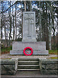 NO2694 : Crathie War Memorial by Alan Findlay