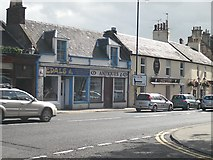 NS3526 : Shops, Monkton Road by Richard Webb