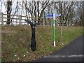 ST1594 : Signposts, National Cycle Route 47 by Robin Drayton
