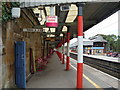 SD5390 : Oxenholme Station, southbound platform by David McMumm