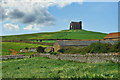 SY5784 : View Of St Catherine's Chapel ~ Abbotsbury by susie peek