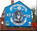 J3169 : Tommy Dickson mural, Belfast by Albert Bridge