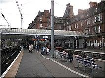 NS3421 : Ayr railway station by Richard Webb