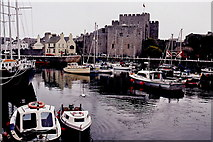 SC2667 : Castletown - Harbour and Castle Rushen by Joseph Mischyshyn