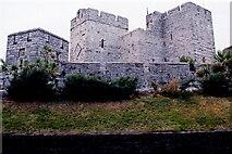 SC2667 : Castletown - Castle Rushen - View to northwest by Joseph Mischyshyn
