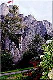 SC2667 : Castletown - Gardens along southwest castle walls by Joseph Mischyshyn