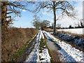 TM2897 : Heading east on Highfield Lane by Evelyn Simak