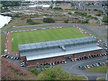 NS4074 : Dumbarton F.C. by JThomas