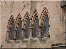 NS5564 : Ibrox Parish Church by David McMumm