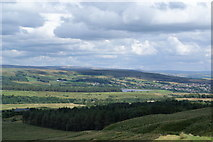 SD6715 : The descent from Winter Hill by Bill Boaden