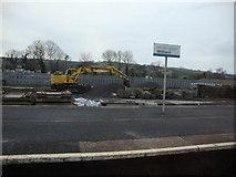 SN1916 : Whitland railway station by Deborah Tilley