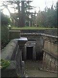 TQ2887 : Highgate Cemetery - The Circle of Lebanon by Marathon