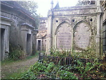TQ2887 : The tomb of Carl Rosa, Highgate West Cemetery by Marathon