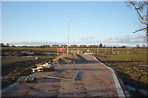 SE6350 : New roundabout and Badger Hill by DS Pugh