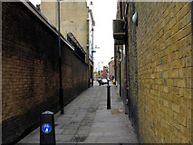 TQ3382 : Shoreditch:  Boundary Passage by Dr Neil Clifton