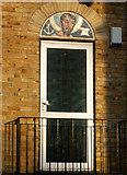 TQ3282 : Doorhead beside St Clements Church, Finsbury, London EC1 by Andy F