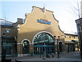 TQ8109 : Entrance to Priory Meadow Shopping Centre by Oast House Archive