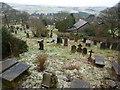 SD8126 : St Mary & All Saints Church, Goodshaw, Graveyard by Alexander P Kapp