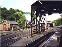 NZ8204 : Engine sheds at Grosmont by David P Howard