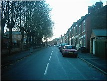 SK3336 : Handford Street from Richardson Street, Derby by Eamon Curry