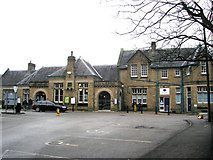 SD9851 : Skipton:  station exterior by Dr Neil Clifton