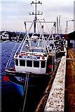 SC2484 : Peel - West Quay - Fishing boat  New Dawn by Joseph Mischyshyn